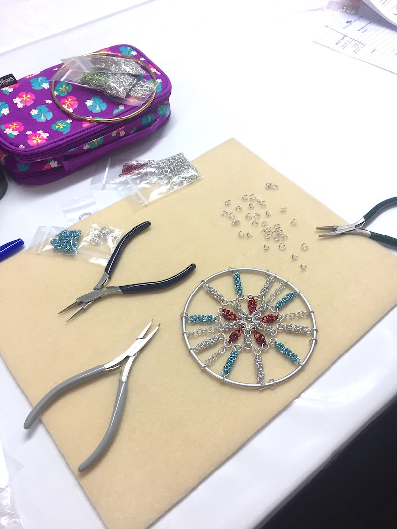 Maille Mania_Dreamcatcher Workshop_2