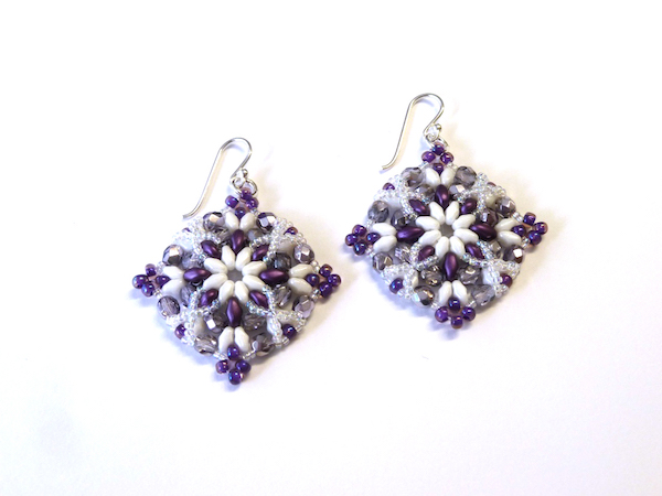 Sumptuous Seed Beads Workshop_Morrigan Earrings_1
