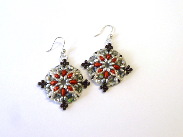 Sumptuous Seed Beads Workshop_Morrigan Earrings_4