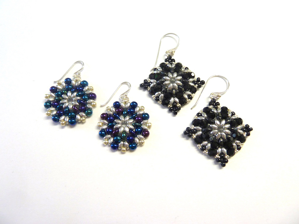 Sumptuous Seed Beads Workshop_Morrigan Earrings_7